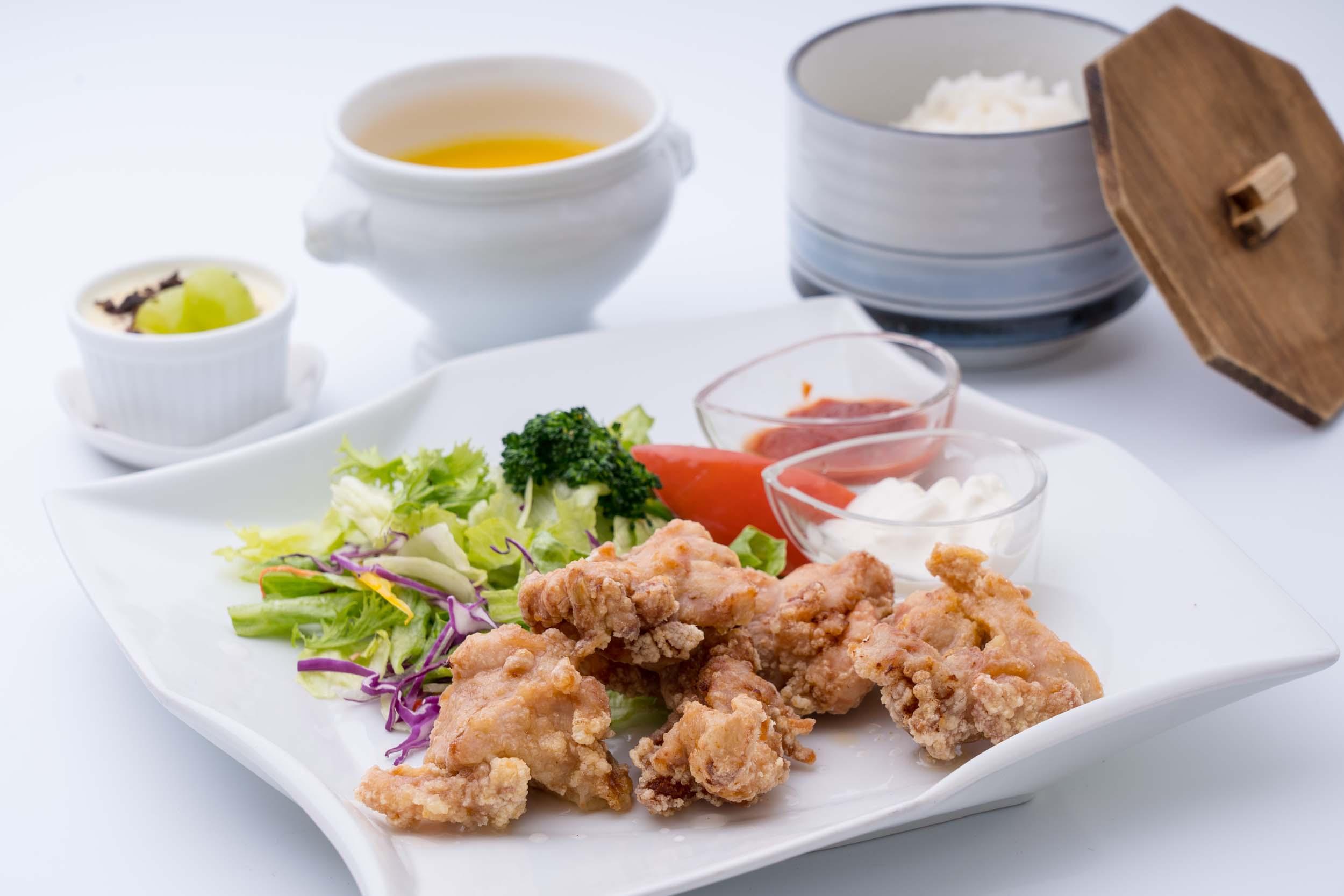 桜島鶏唐揚げセット
